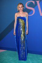 Diane Kruger in Monse at the 2017 CFDA Awards in New York City at Manhattan Center's Hammerstein Ballroom -- WWD