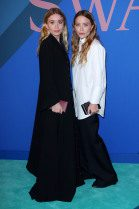 Mary-Kate Olsen and Ashley Olsen at the 2017 CFDA Awards -- WWD