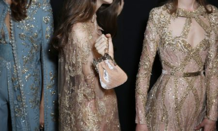Backstage at Elie Saab Couture Fall 2017