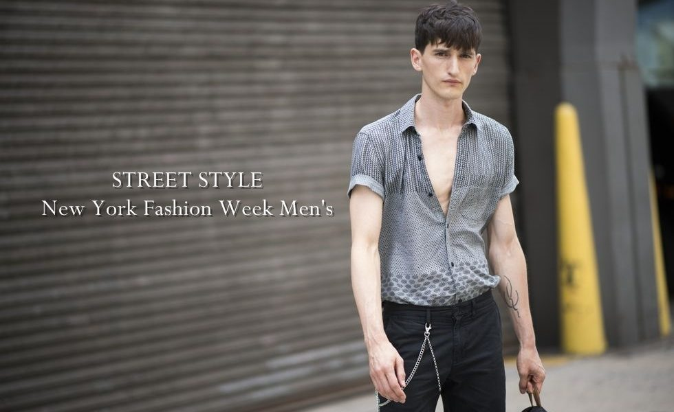 Spotted Street Style From New York Fashion Week Men 39 S The Garnette Report