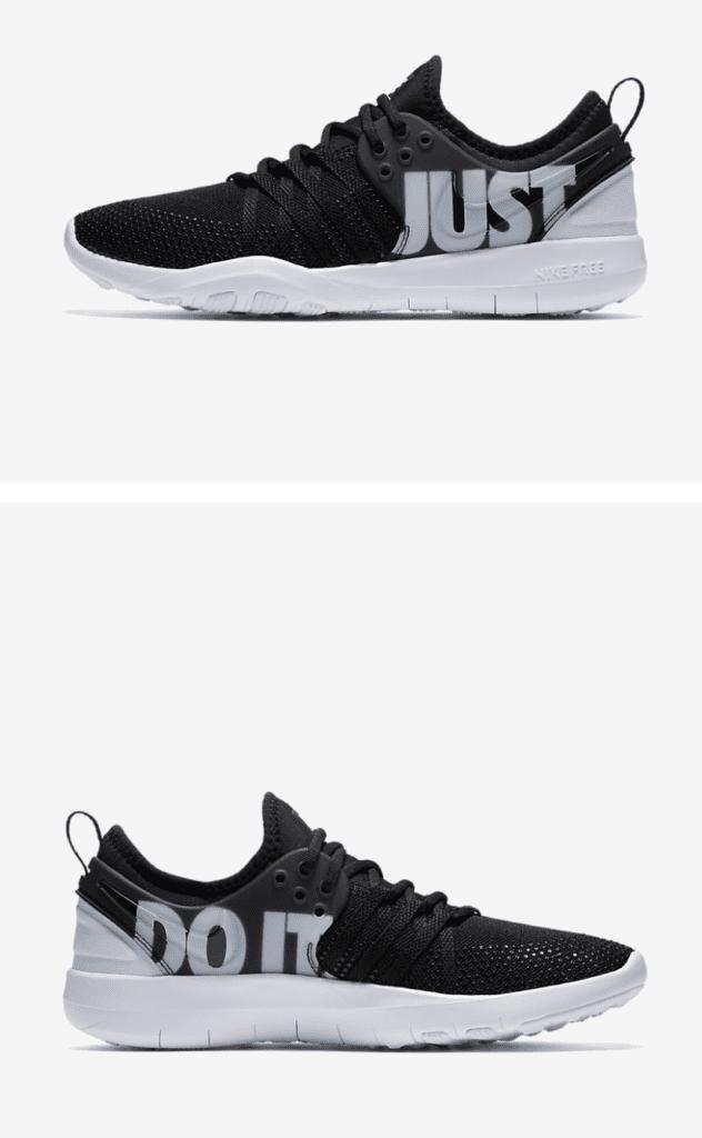 gym essentials nike sneakers