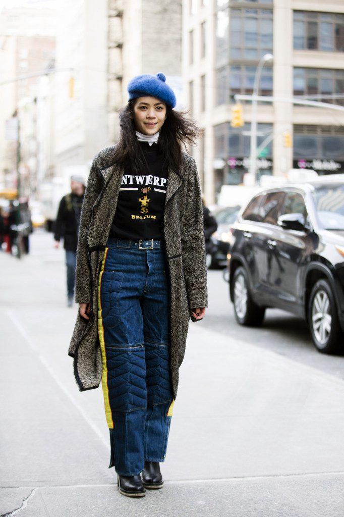 Street Style – Day 1 – New York Fashion Week: Women's Fall/Winter 2016