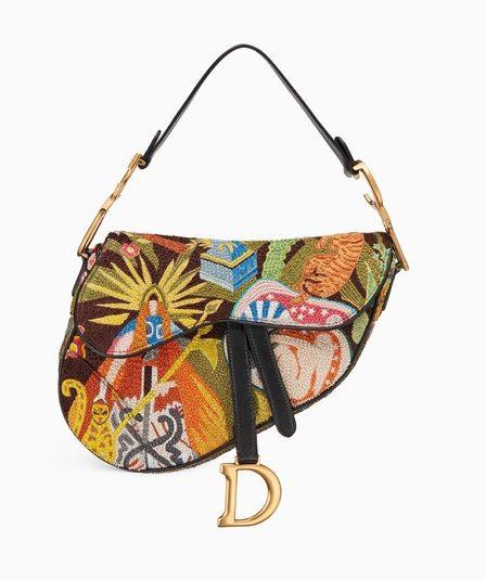 iconic Dior saddle