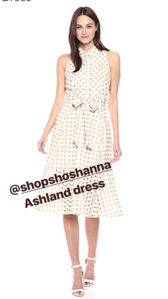 amazon shoshanna dress markle