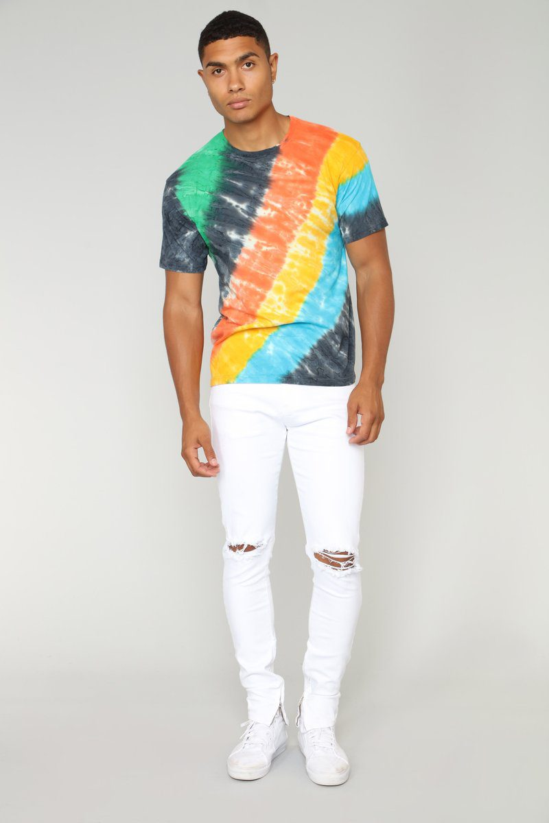 rainbow short sleeve tee