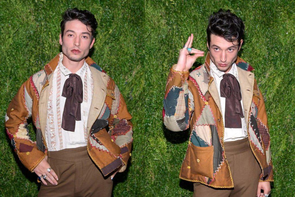 Ezra Miller style icon