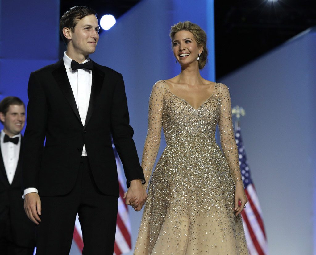 Ivanka Trump and husband at The Liberty Ball