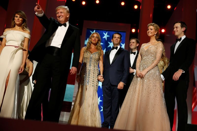 First Family at The Liberty Ball