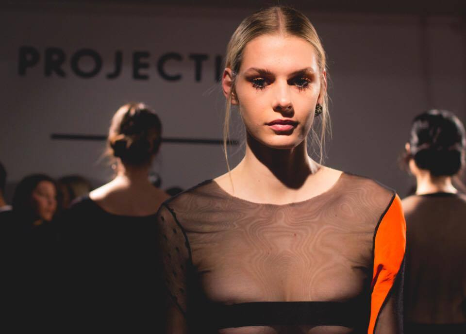 Katie Gallagher Fall/Winter 2017 collection for New York Fashion Week on February 9, 2017