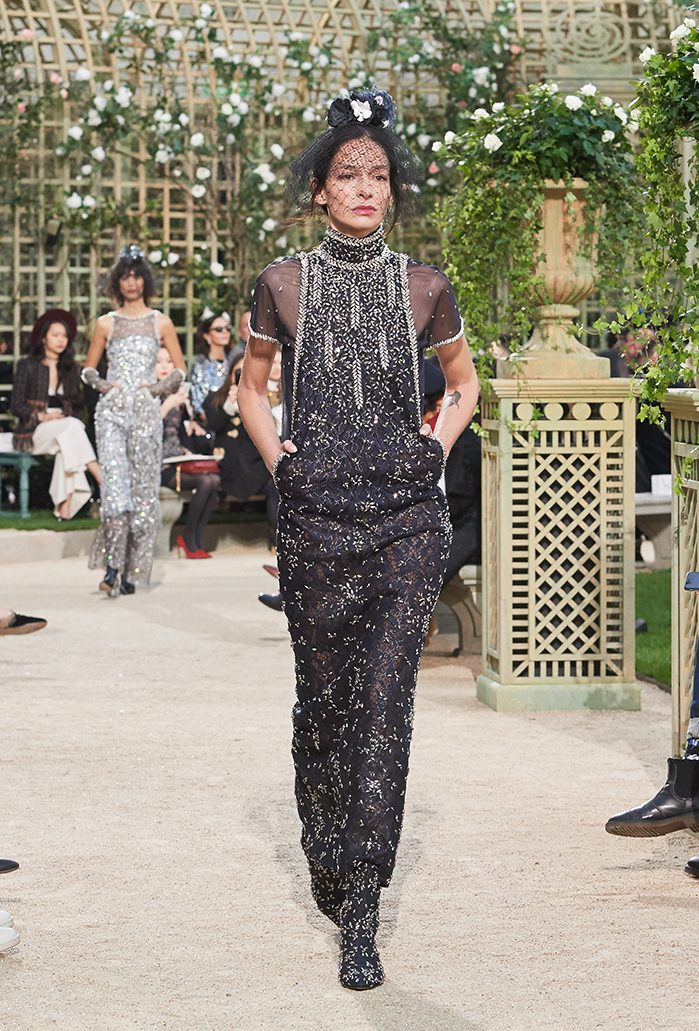 chanel karl lagerfeld spring haute couture fashion week paris 2018