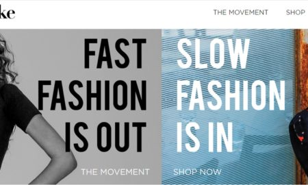 Fast Fashion is Out, Slow Fashion is In