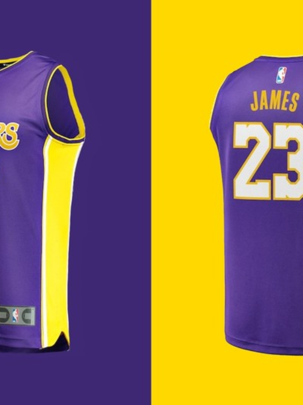 sports shoes f3633 f8ee8 LeBron James's L.A. Lakers Jersey Sells At Record Pace | The ...