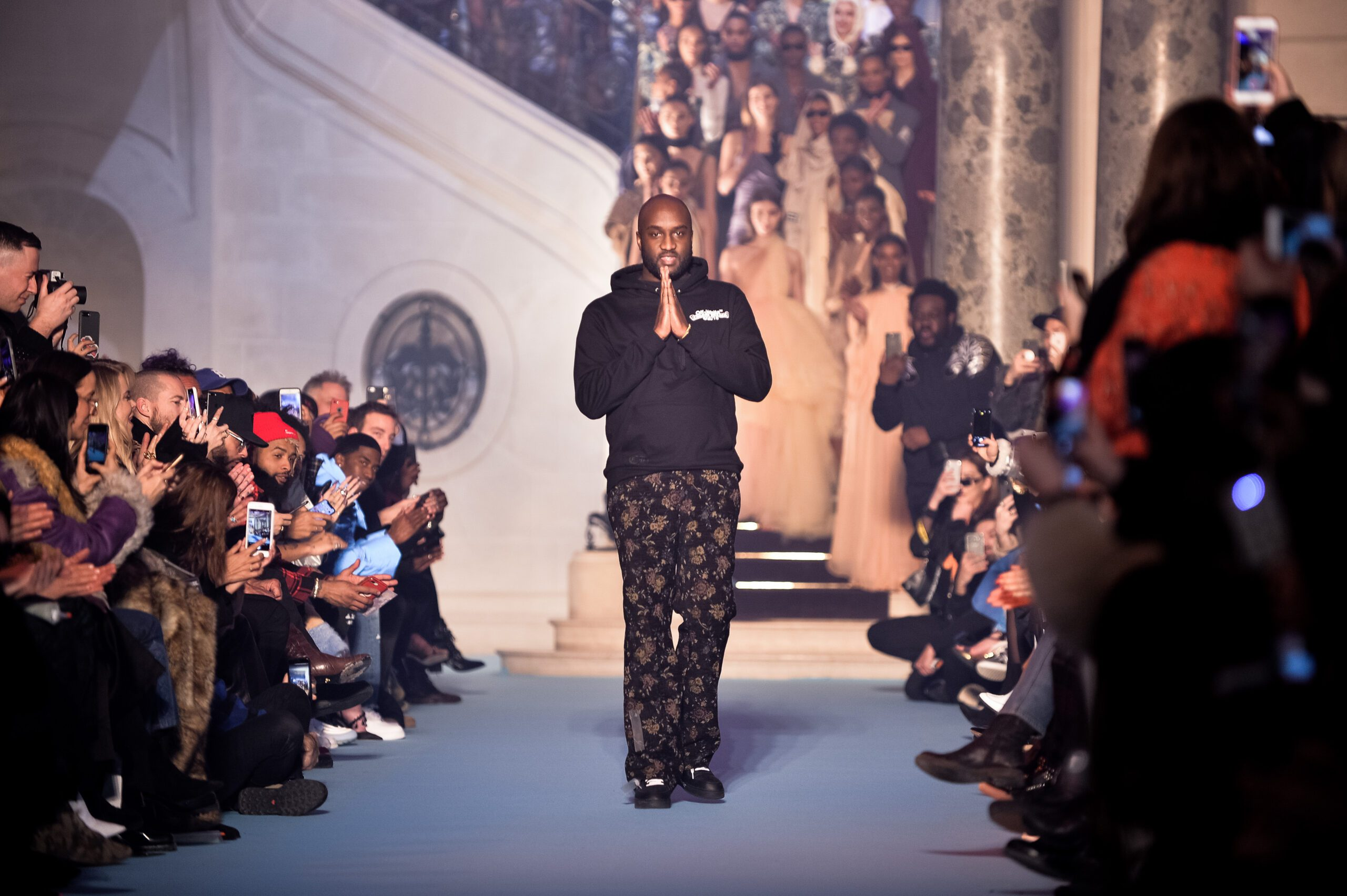 Off-White c/o Virgil Abloh as part of Paris Fashion Week FW19 (Photo by Francois Durand/Getty Images)
