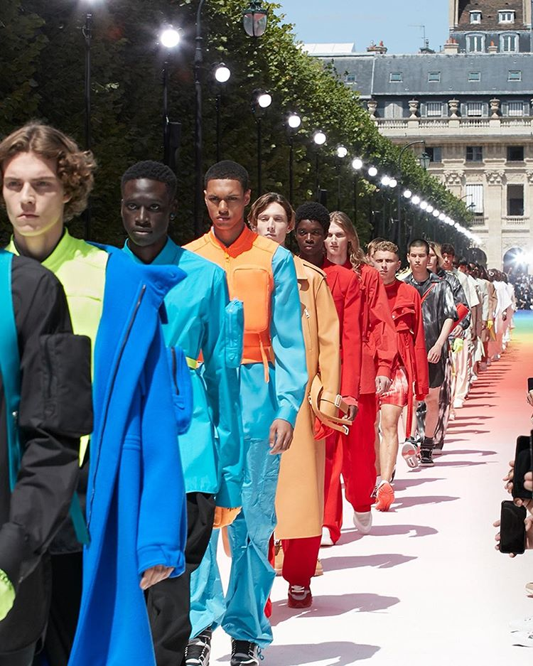 Louis Vuitton SS19 final walk