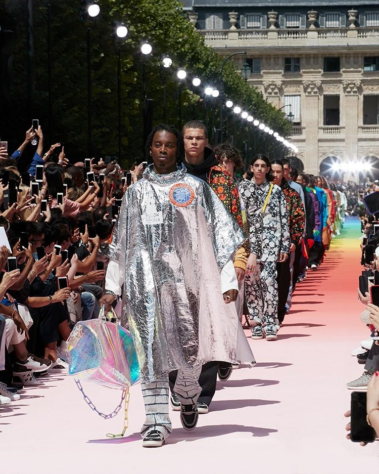 Playboi Carti walks for Louis Vuitton SS19