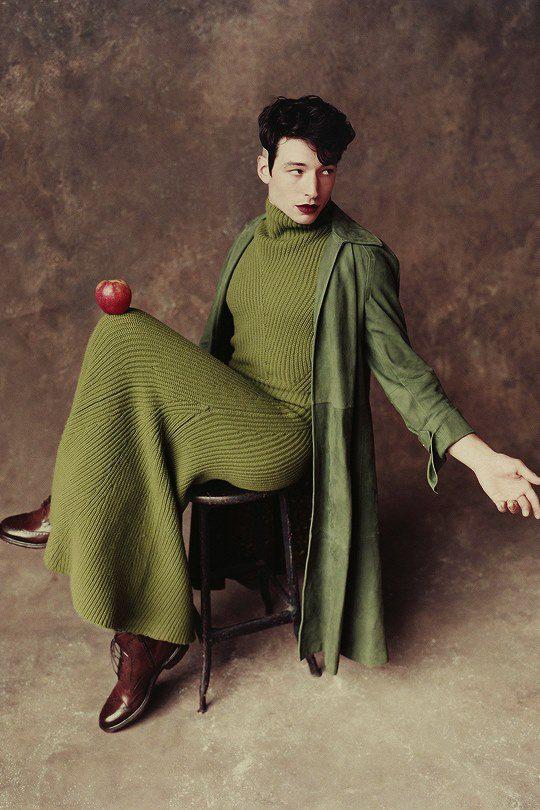 ezra miller fashion style