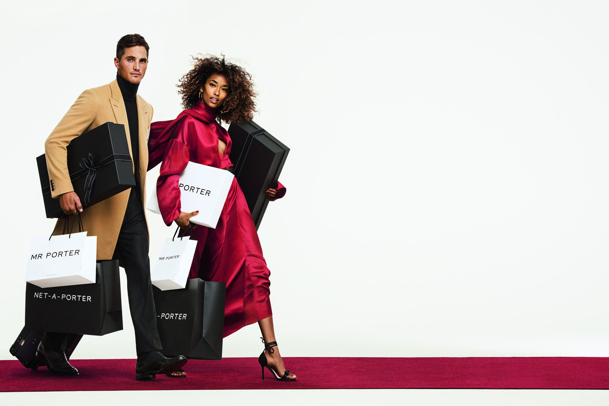 Mr. Porter and Net A Porter Holiday 2018 Campaign ad