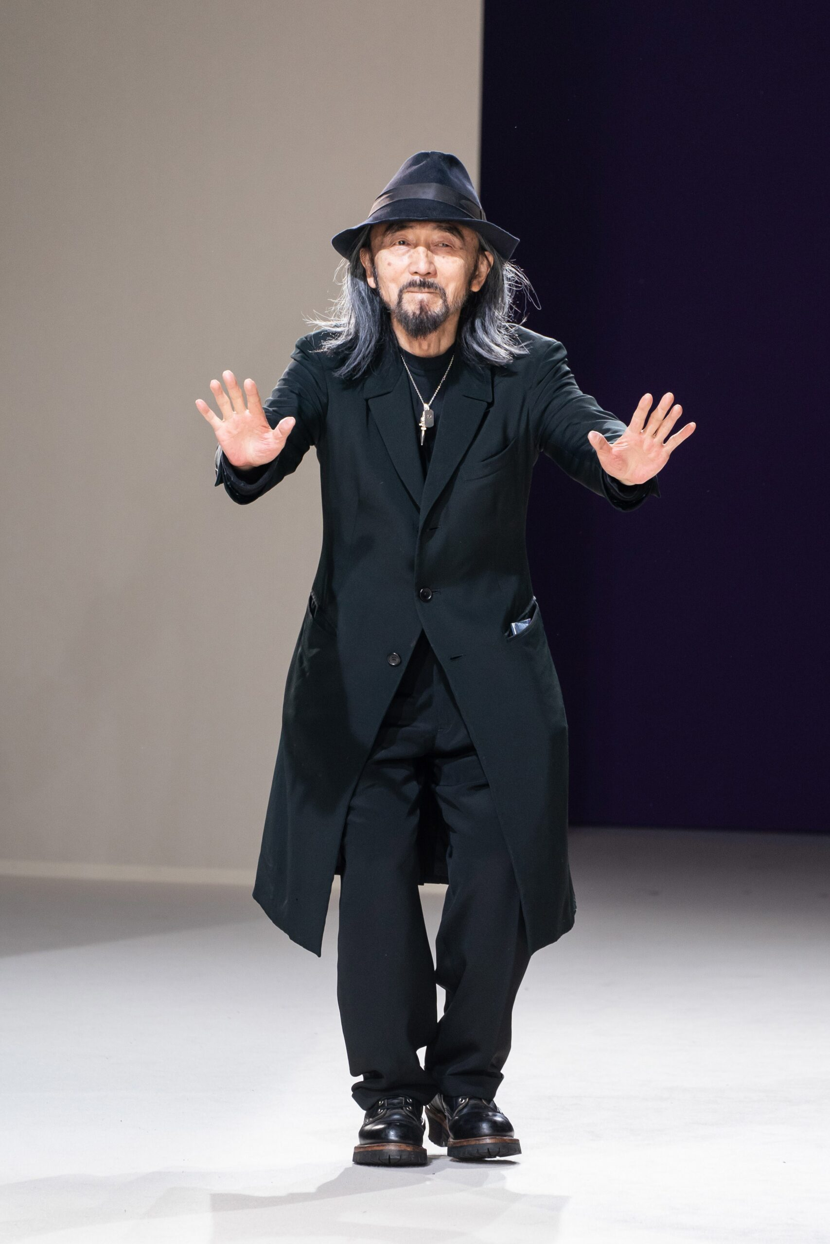 ad1155cb761 Japanese designer Yohji Yamamoto s designs are notorious for the fuck you s  that they present to the fashion establishment.