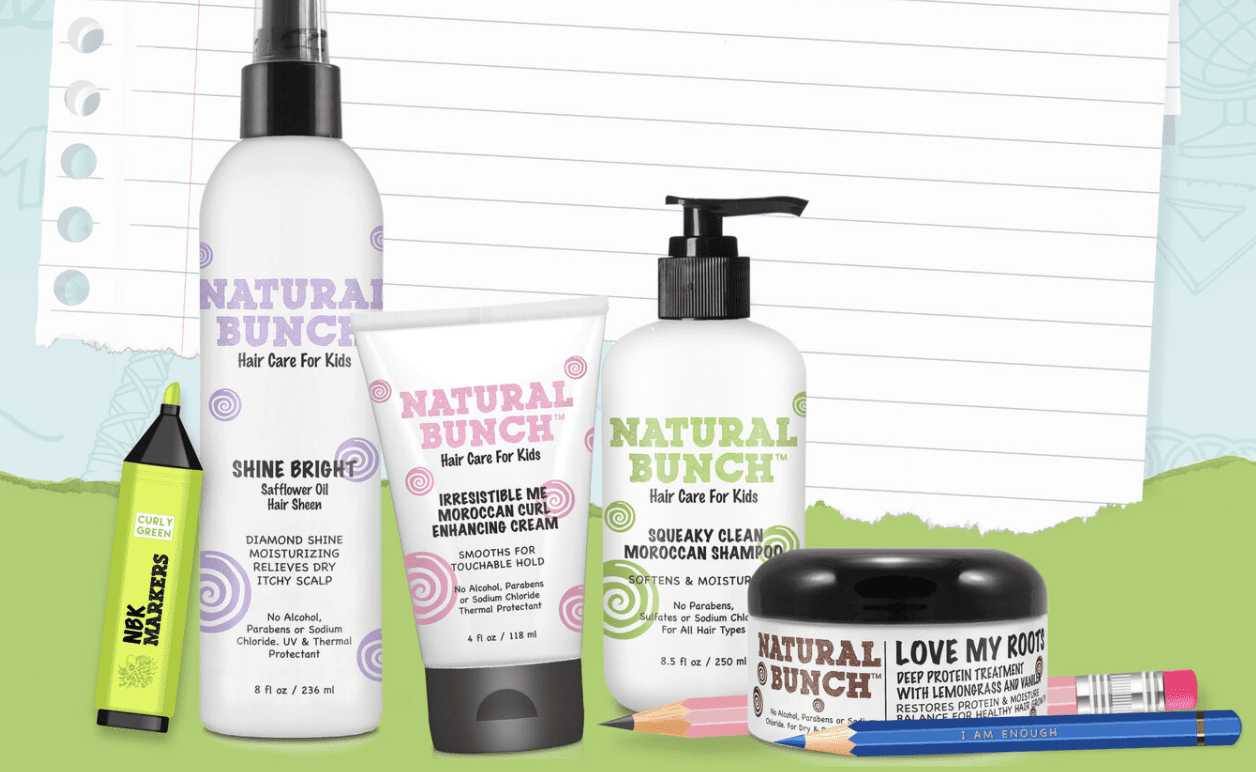Photo of Natural Bunch Kids haircare products
