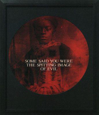 "White gaze renders black female ""evil."""