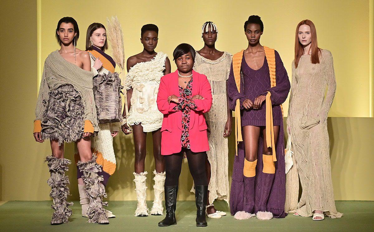 Milan Fashion Week Black Lives Matter African fashion designers
