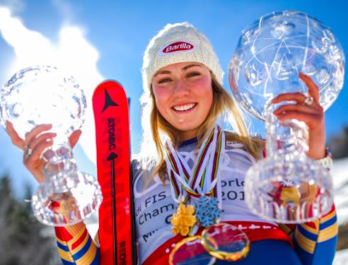 Mikaela Shiffrin, Ski