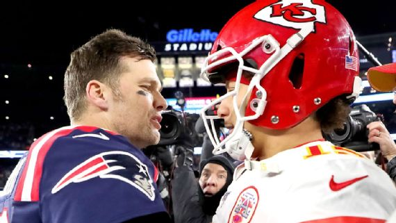 Super Bowl LV Brady vs. Mahomes