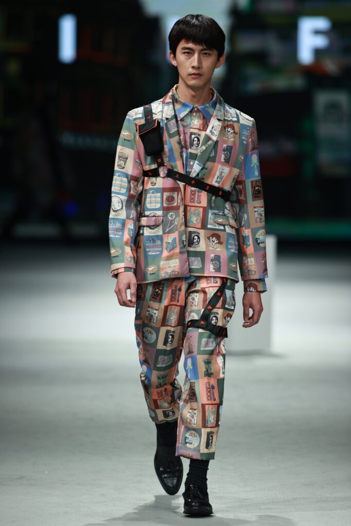 Photo of INF's collection for AW21
