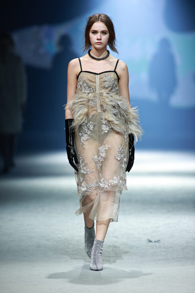 Photo of Isabelle Wen's collection for AW21