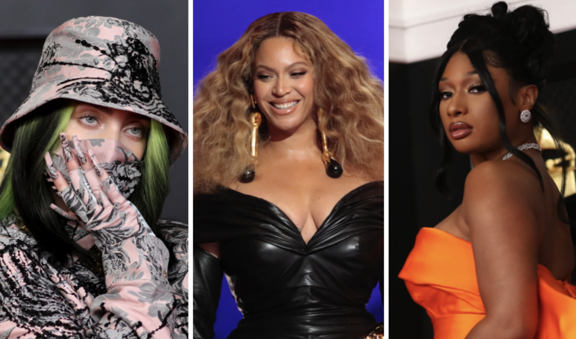 Photo of the 63rd Grammys of Billie Eilish, Beyonce and Megan Thee Stallion