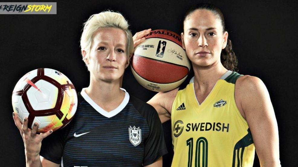 Sue Bird and Megan Rapinoe; Top Five Most Influential Women in Sports