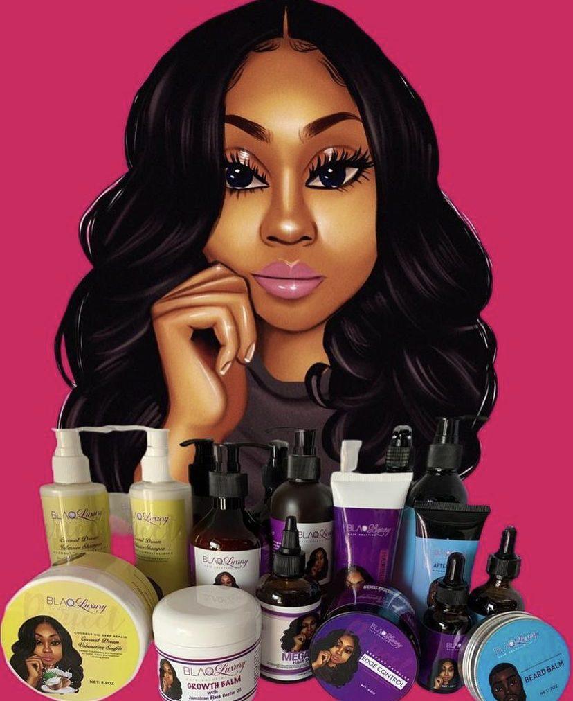 Blaq Luxury Hair Care Line