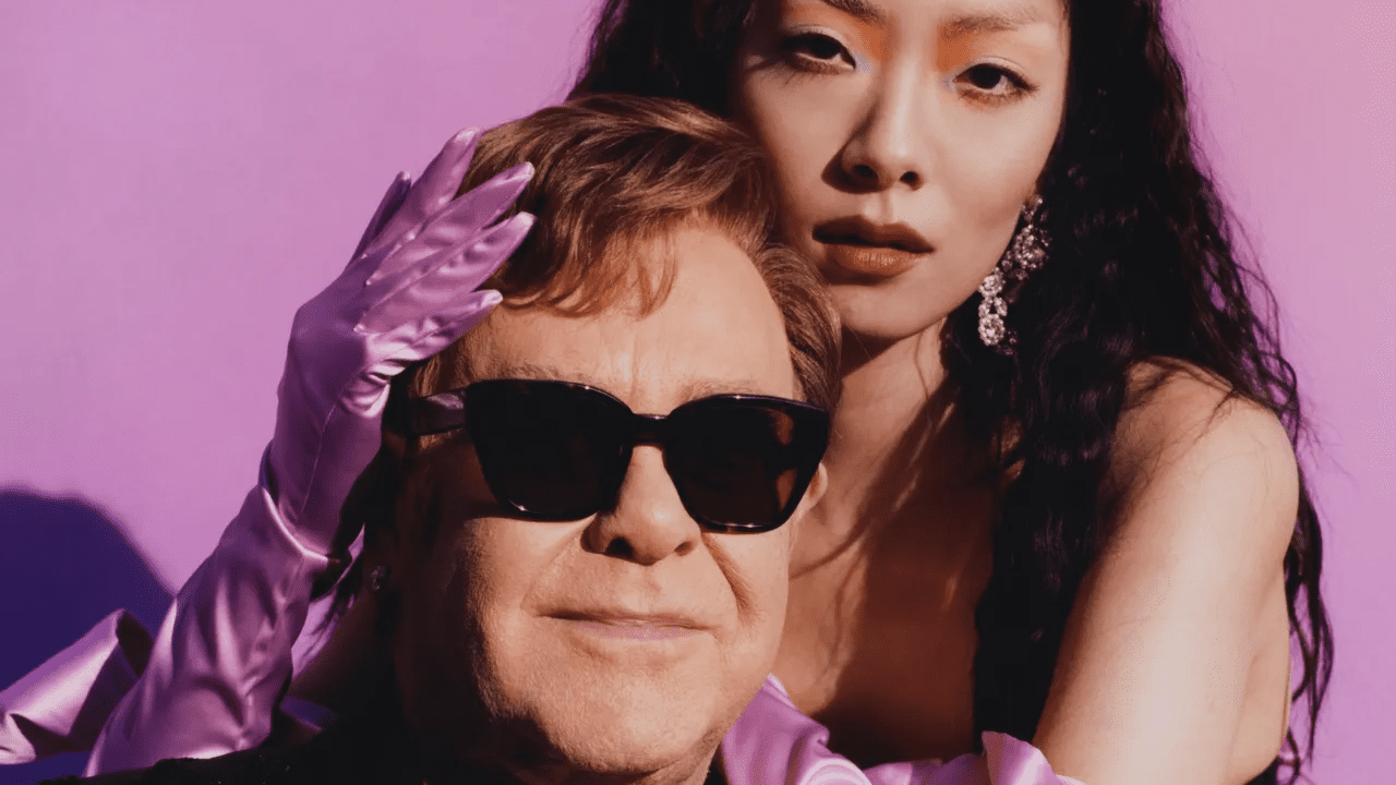 Rina Sawayama and Elton John