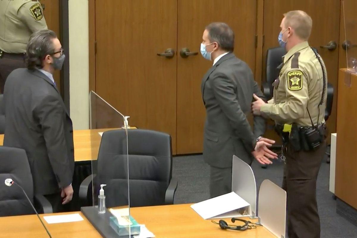 Derek Chauvin Arrest