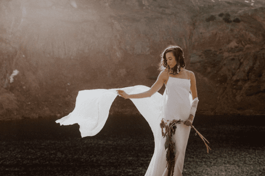 Photo of nordeen, the brand of Brenna Simmons with her bridal gowns