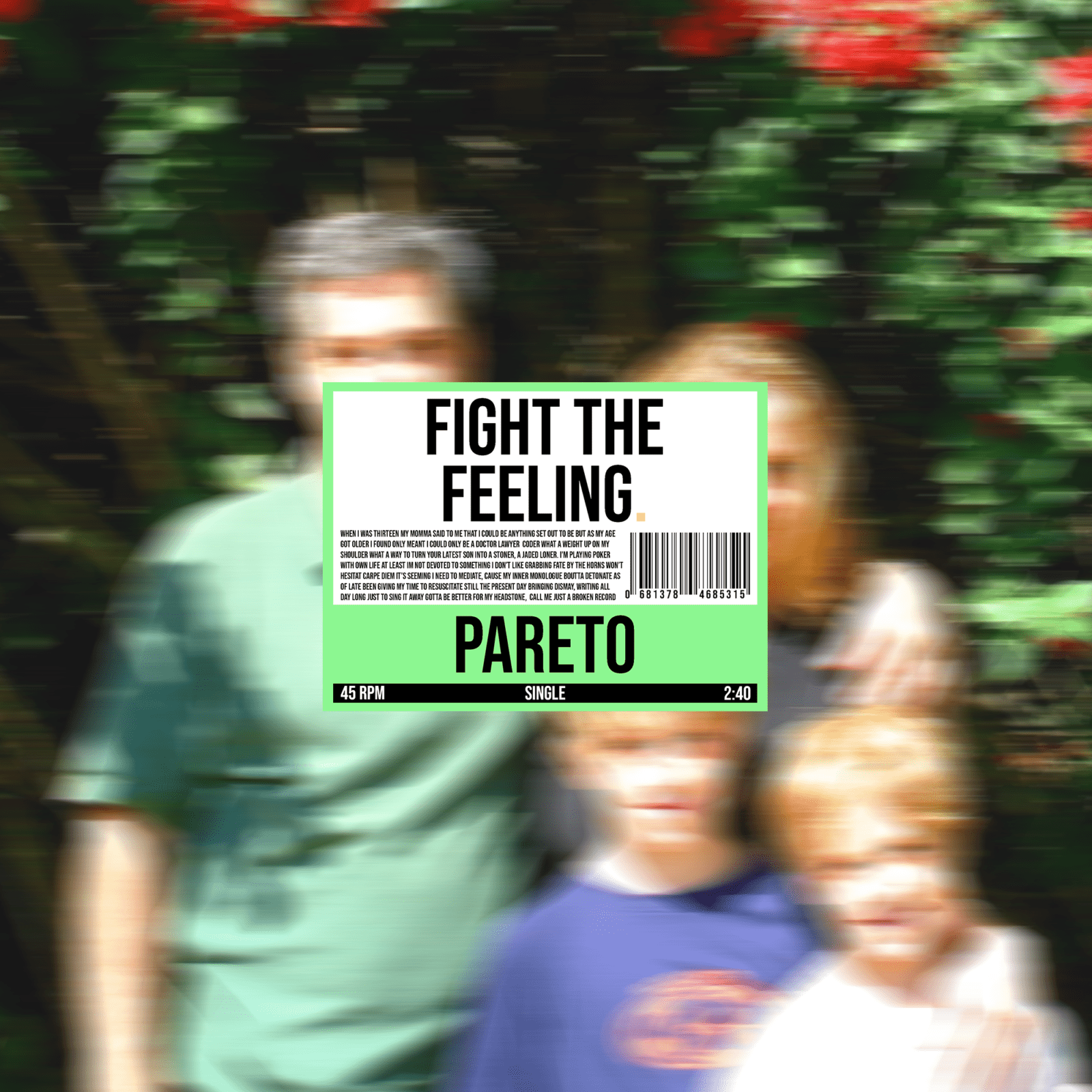 Fight the Feeling by Pareto cover