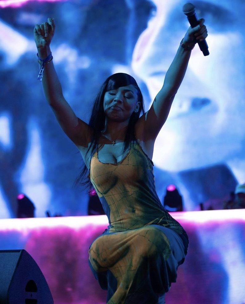 Mariah the Scientist Performing at Rolling Loud in Miami last weekend (from her instagram)