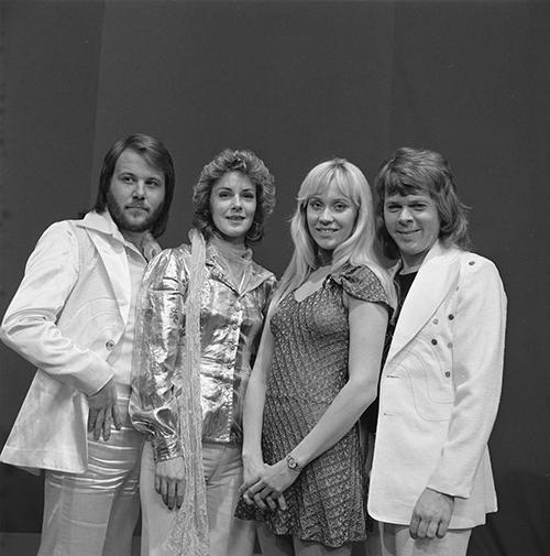 Swedish band ABBA