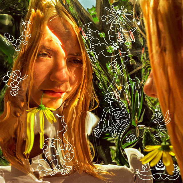 Dora Jar on her album cover for 'Digital Meadow' [Spotify]